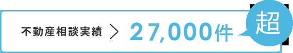 不動産実績、26,000件超